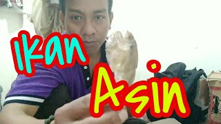 Viral!!!Makan pakai ikan asin,Bau Ikan Asin.