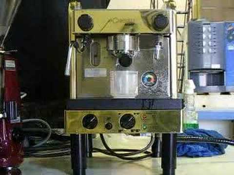 used la cimbali junior espresso machine youtube. Black Bedroom Furniture Sets. Home Design Ideas