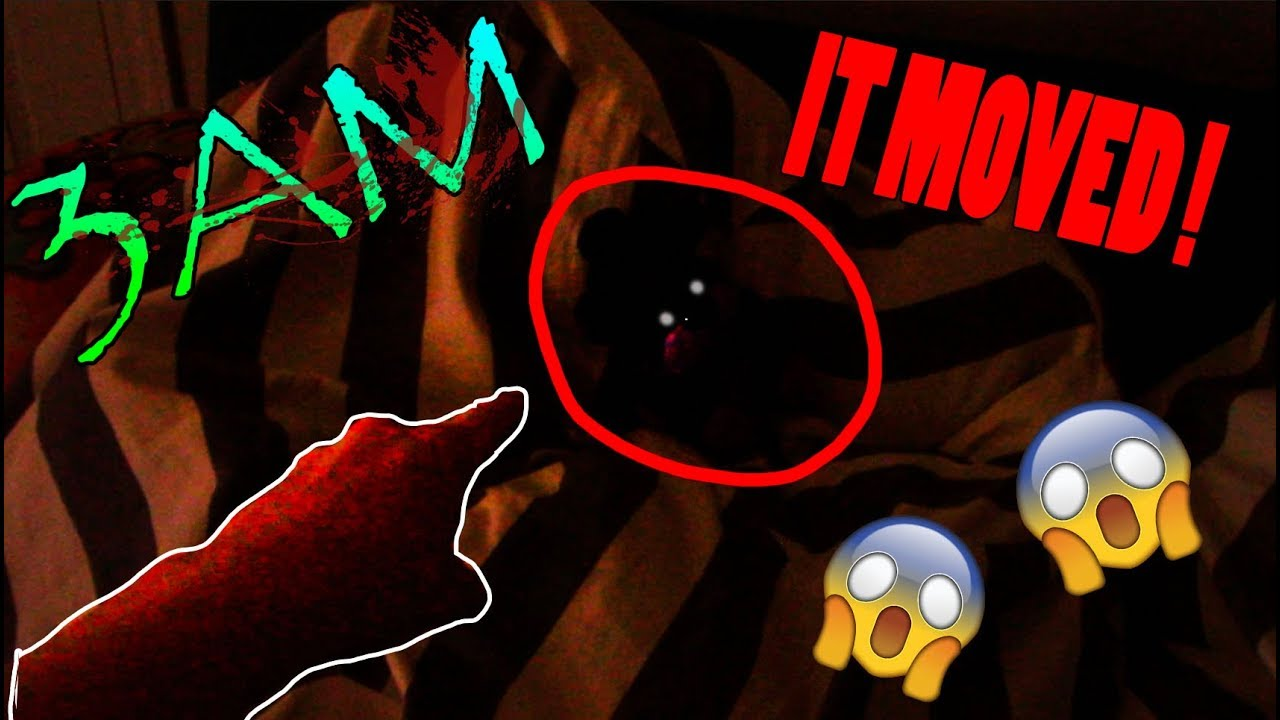 Download MY SHADOW FREDDY PLUSH MOVED!!!! (3AM CHALLENGE)