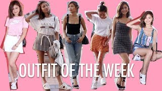 🎃7天夏日休閒配搭 Summer Outfit Of The Week  | Pumpkin Jenn🎃