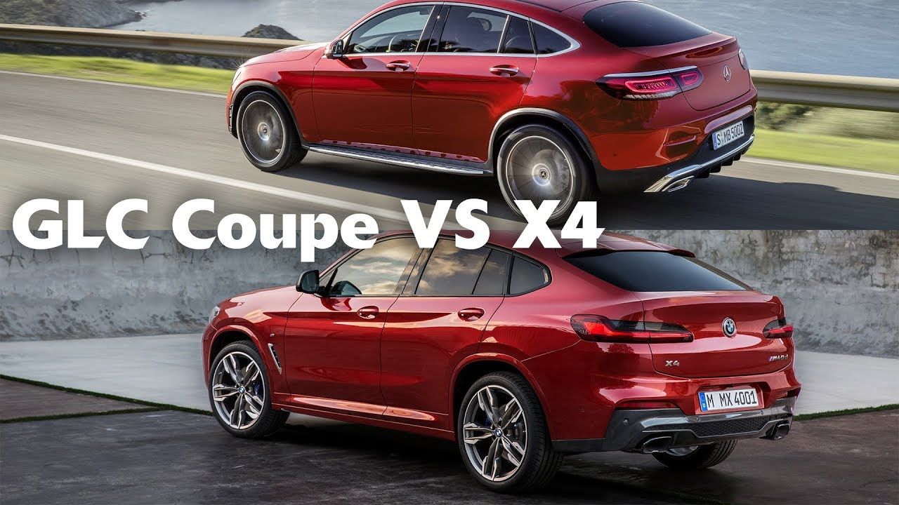 2020 Mercedes Benz Glc Coupe Vs 2019 Bmw X4 Fight
