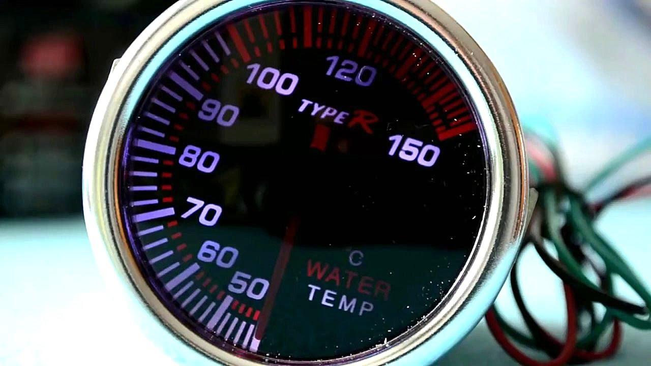Como instalar un medidor de temperatura o aceite externo - Medidor de temperatura ...