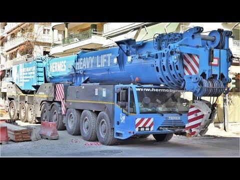Terex Demag AC 500-2 (500 ton) mobile crane close view (Hermes Heavy Lift 2017)