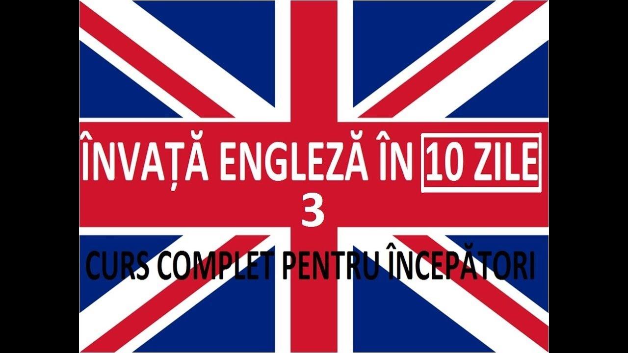 Invata engleza in 10 ZILE | Curs complet pentru incepatori | LECTIA 3