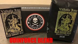 Death Wish Coffee: Valhalla Java Odinforce Blend Review!