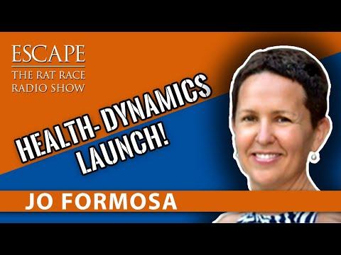 Escape The Rat Race Radio EP05: Jo Formosa [ Co-Creator,Health Dynamics]