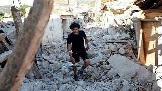 Erdbeben in griechenland: eine tote