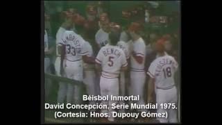David Concepción: Serie Mundial 1975