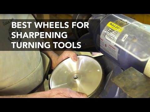 Sharpening Tools with CBN Grinding Wheels
