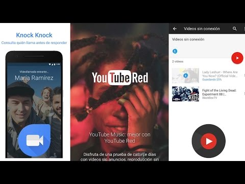 #ViernesDeApps: YouTube Music + YouTube Red + Google Duo