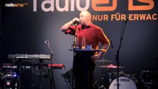 Horst Evers beim radioeins-Parkfest 2013
