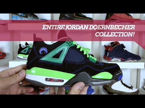 EVERY JORDAN DOERNBECHER COLLECTION! (2017)