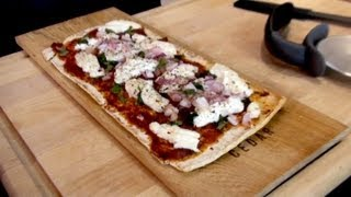 Mariah Milano's Goat Cheese Flatbread Pizza