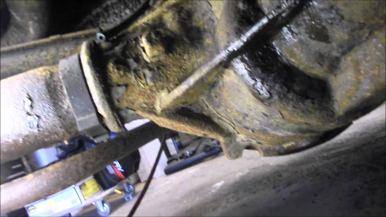 2000 Isuzu Rodeo Engine Diagram Wiring Car Horn Relay Checking & Repairing A Differential Vent Tube When Troubleshooting Leak (part 1 Of 2) Tahoe ...