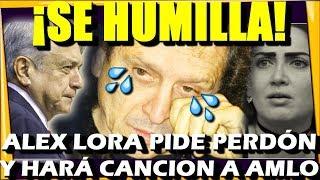 🔴 ALEX LORA SE HUMI.LLA ¡ CELIA LORA PIDE PERDON A AMLO A TRAVES DE SU PAPA! - ESTADISTICA POLITICA