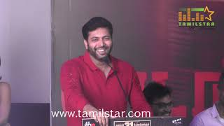 Adanga Maru Movie Press Meet / Jayam Ravi / Raashi Khanna / Sam C. S.