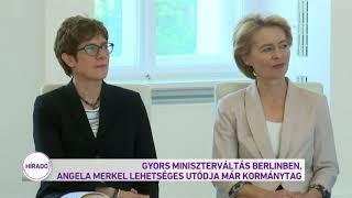 Gyors miniszterváltás Berlinben
