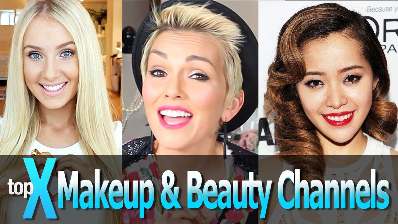 Top 10 YouTube Beauty and Makeup Gurus - TopX Ep.8 - YouTube