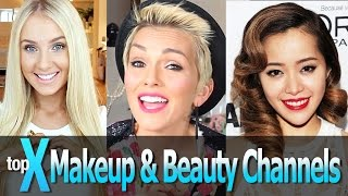 Top 10 YouTube Beauty and Makeup Gurus - TopX Ep.8