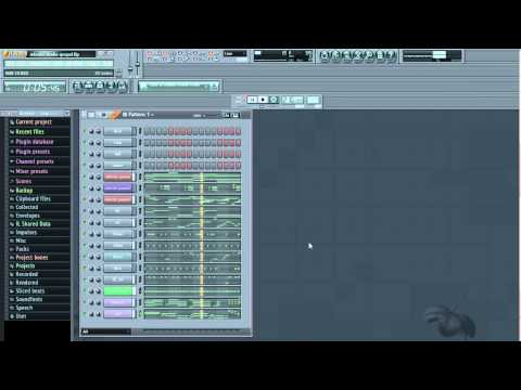 how i make SA gospel beats with fl studio part 2...dance version