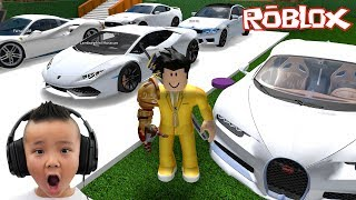 My Cars Collection and Mega Mansion Roblox Fun With CKN Gaming