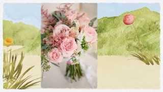 Свадебная корзинка для лепестков Gilliann Melissa BAS023