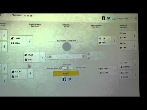 March Madness Second Chance Bracket video