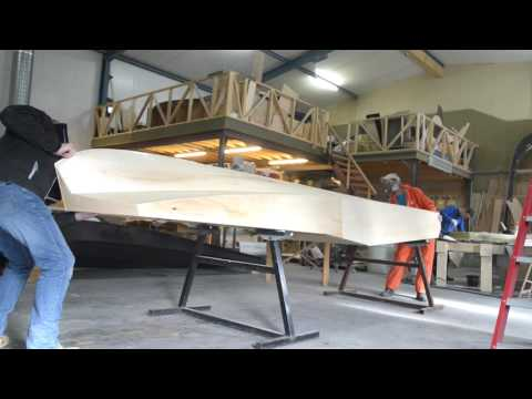 How-to : Building the hull of the V5 solarboat part 4 - Young Solar Challenge