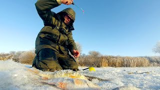 Рыба любит эту мормышку Поиск и ловля плотвы зимой