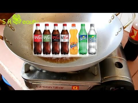 Coca-Cola cooking Experiment