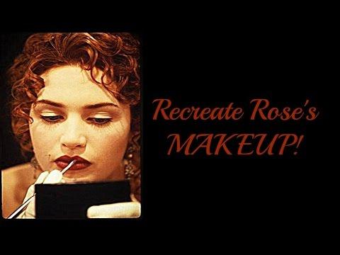 How to recreate Titanic's Rose MAKEUP!