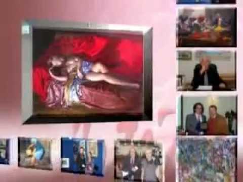 TV broadcast Arte24 - collective exhibition opening 08.03.2013 Roma Italia