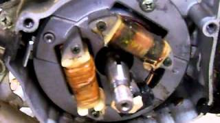 How to advance ignition timing on a Yamaha Blaster 200