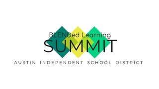 BLENDED Learning Summit 2018 Schedule