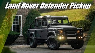 Land Rover Defender Pickup By Kahn Design and Chelsea Truck Company