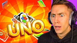 THE MOST INTENSE 2v2 UNO GAME!!