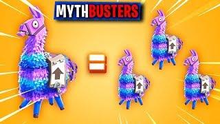 OTTENERE TRIPLO LOOT DAL LAMA! - FORTNITE MYTHBUSTERS #15