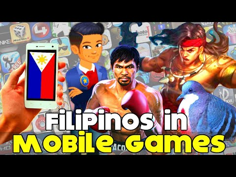 Filipino Characters In Mobile Games