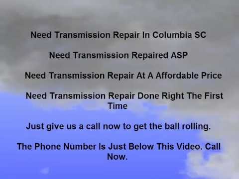 Transmission Repair And Clutch Repair In Columbia SC|Best Transmission And Clutch Repair Columbia