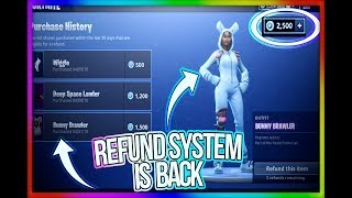 (Updated)*HOW* To Refund Skins In FORTNITE *June 2018*