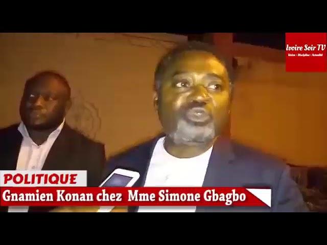 Reconciliation des Ivoiriens - Gnamien Konan visite Simone Gbagbo