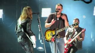 eric church lzzy hale thats damn rock roll cmafest 2014