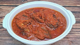 HOW TO MAKE BEST NIGERIAN FISH STEW RECIPE DELICIOUS FRIED FISH STEW PEPPERED FISH SAUCE