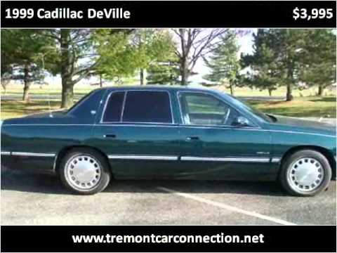 1999 Cadillac Deville Available From Tremont Car Connection
