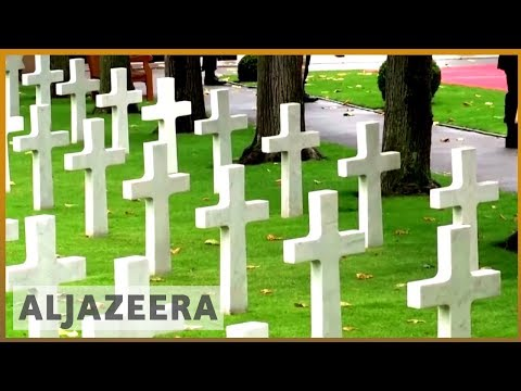 ????????Macron urges world leaders to 'fight for peace' on WWI centenary | Al Jazeera English