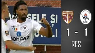FC Voluntari - Gaz Metan [1-1] - REZUMAT HD