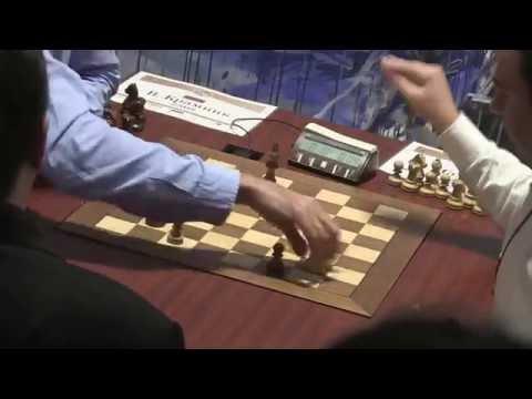 2016-09-25 GM Kramnik - GM Mamedjarov ENDGAME Moscow Tal Memorial Blitz