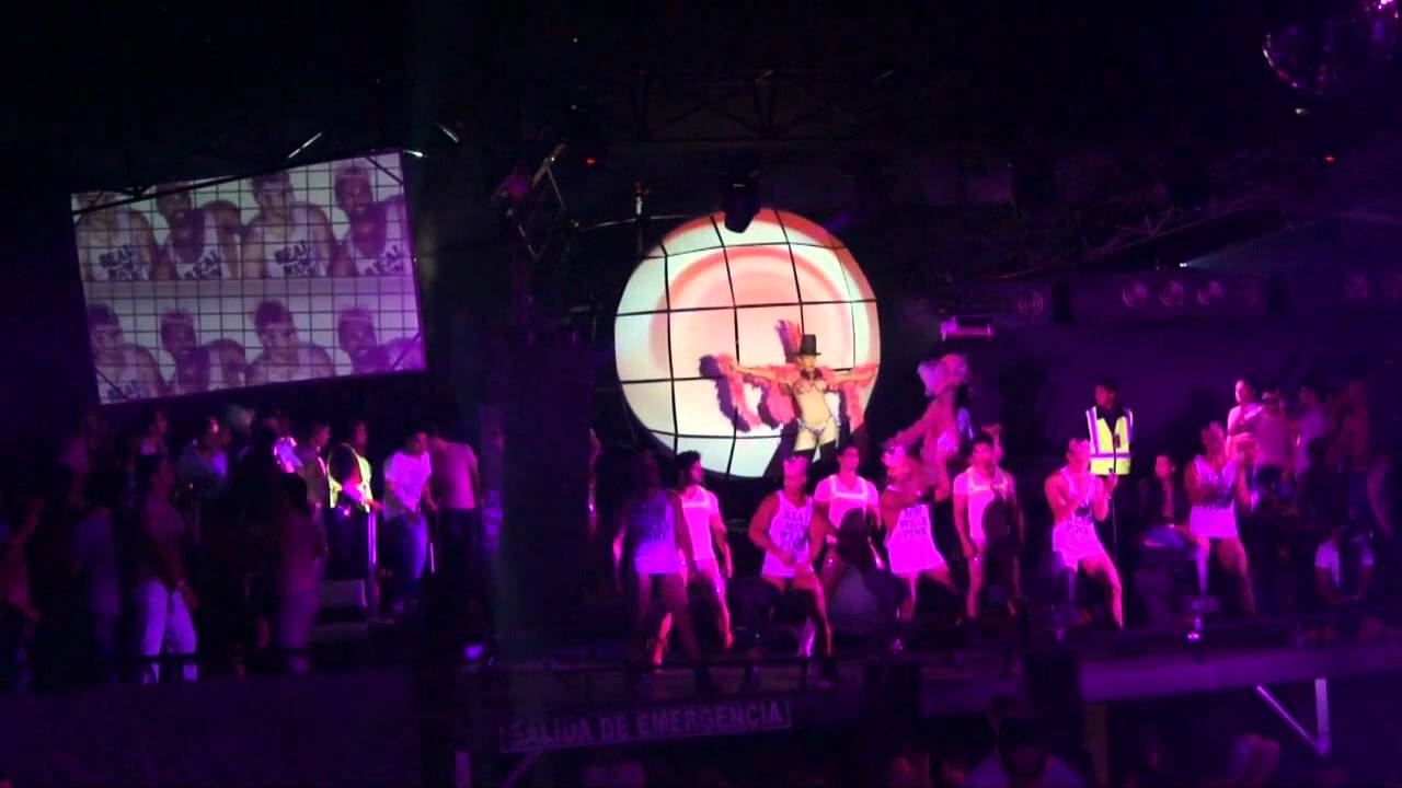 Vj Pikuil Video Mapping Para La Pink Party Vd Mas Octubre 2012