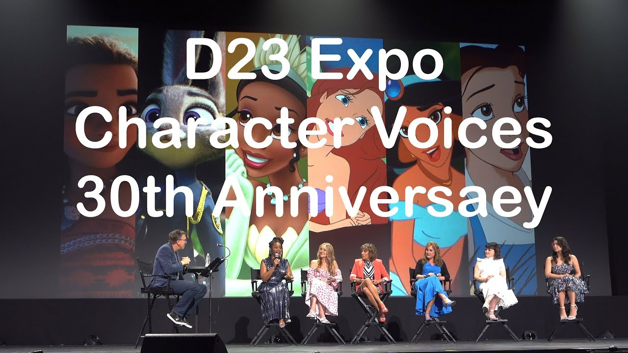 Download D23 Expo Disney Character Voices 30th Anniversary (Full Show)