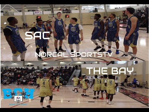 NCS TV ALL STAR GAME HIGHLIGHTS | BAY AREA vs SAC #NorCalFacesOff